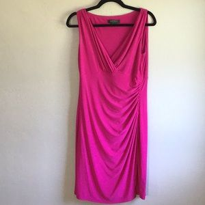 Ralph Lauren v-neck dress